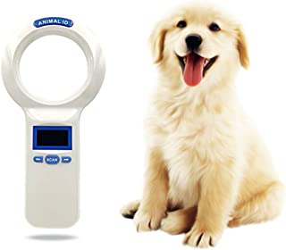 Aoile Portable Animal Identification Microchip,Pet Identification Handheld Card Reader Barcode Idfdx-b Glass Tube Label Chip Scanner