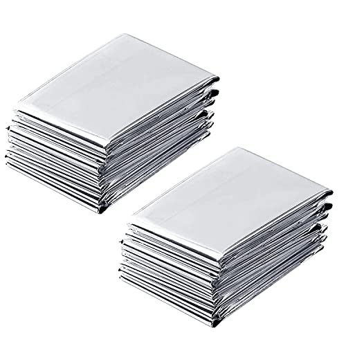 NAVAdeal 2 Pack Silver Highly Reflective Mylar Films, 82x 47Inch, Metallized Foil Covering Sheet, Garden Greenhouse Farming, Increase Plant Growth Save Power, Reduce Uneven Heat Environment Safe