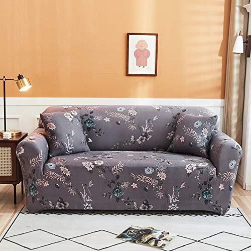 PPMP Funda de sofá elástica para Sala de Estar Funda de sofá elástica Funda de sofá elástica Funda de sillón de Esquina en Forma de L A4 3 plazas