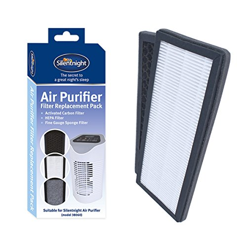 Silentnight 38063 Replacement Filter for Air Purifier, Hepa