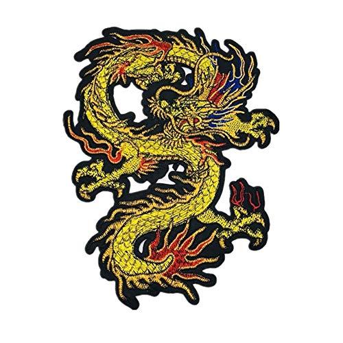 Ruikey Parche Dragon Chino Parches De Animales Parches