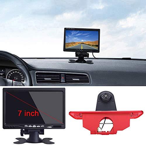 〔7'' Monitor TFT LCD + 12 mm CMOS Lente Cámara〕HD reversa de luz de Freno para Peugeot Expert/Fiat Scudo/Citroen Jumpy 2007 – 2016