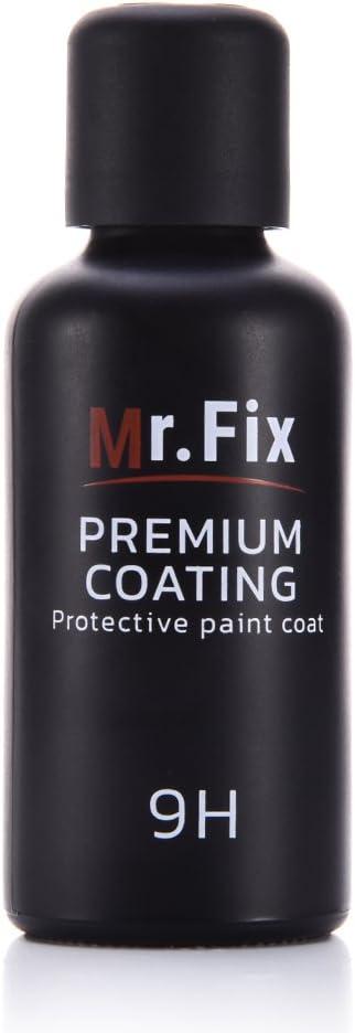 Mr. Fix Upgraded 9H Car Polish Liquid Crystal Set, 30ML Anti-Scratch Car Polish Exterior Care, Super Hydrophobic Car Liquid Ceramic Coating Paint Sealant Protection