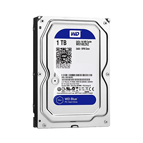 "Western Digital WD10EZRZ Disque Dur Interne 3,5"" 1 to SATA III"