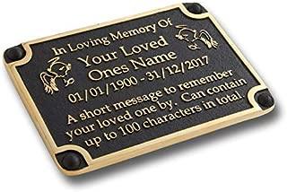 Best memorial plaque for a bench Reviews