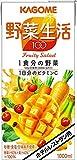 カゴメ ホテルレストラン用 野菜生活100 フルーティーサラダ 1L 1セット(12本)