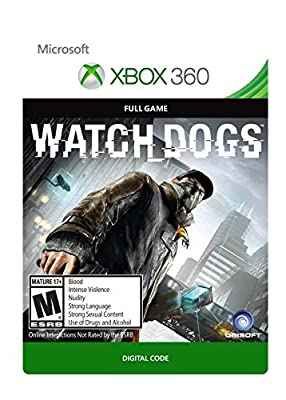 Watch Dogs - Xbox 360 [Digital Code] from Ubisoft