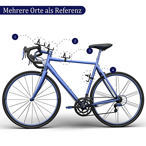 PAMASE 2 Stücke Fahrrad Flaschenhalter Schwarz Klemme mit Gummi-Pad Flaschen Cage Verbesserte Bike Water Bottle Holder - 6