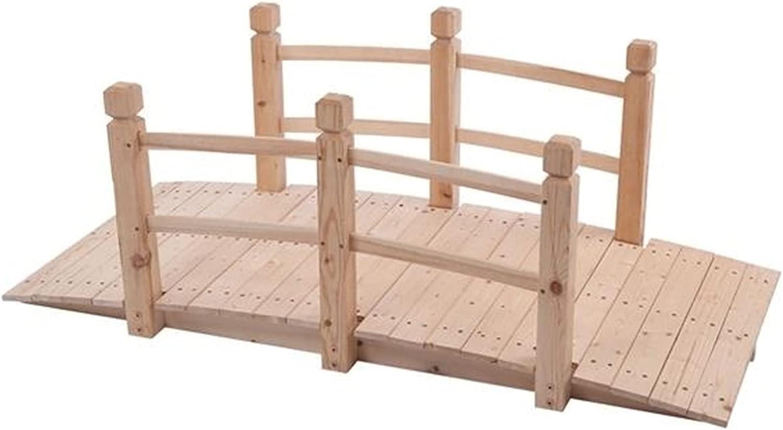 ZSY Outdoor Patio Furniture 1506756cm Small Wooden Bridge Arch B Import Direct stock discount