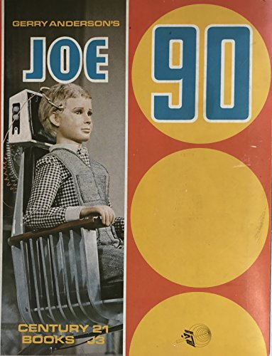 Vintage Gerry Andersons 1968 Ultra Rare Joe 90 Dot to Dot Story Book The Winter Olympics Century 21 Publishing