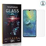 Ramcox Displayschutzfolie für Huawei Mate 20X, 9H Härte Anti Fingerprint Displayschutz, 3D Touch Schutzfilm aus Gehärtetem Glas, 1 Stück -