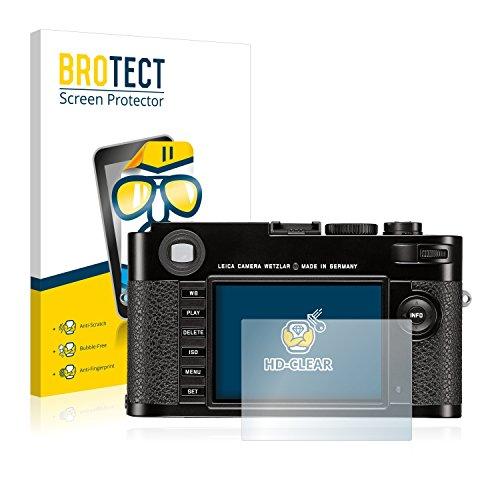 brotect Pellicola Protettiva Compatibile con Leica M (Typ 262) Pellicola Trasparente (2 Pezzi) Anti-Impronte