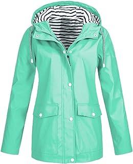 Windbreaker Transition Jacket Chaqueta Impermeable para Mujer Chaqueta Transpirable con Capucha Chaqueta para Exteriores