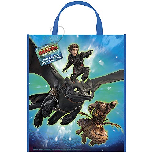 Unique How to Train Your Dragon 3 Party Tote Bag, 13' x 11'