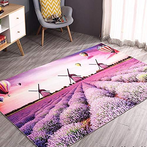 YAN 3D Exquisito resbaladizo Dormitorio Estera colchón