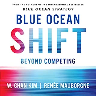 Blue Ocean Shift     Beyond Competing - Proven Steps to Inspire Confidence and Seize New Growth              Autor:                                                                                                                                 Renee Mauborgne,                                                                                        W. Chan Kim                               Sprecher:                                                                                                                                 Christian Steiner                      Spieldauer: 9 Std. und 47 Min.     8 Bewertungen     Gesamt 4,4
