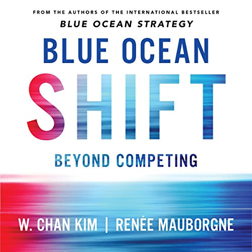 Blue Ocean Shift audiobook cover art