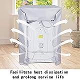 Zoom IMG-2 copertura per lavatrice coperchio protettivo