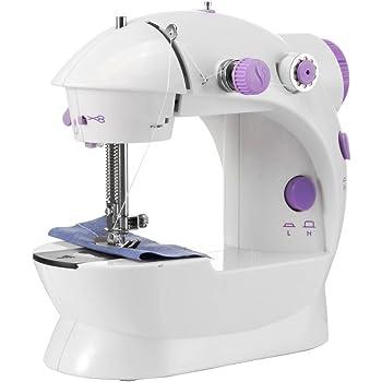 Galapara Mini Máquina de Coser Portatil y Versátil, púrpura del ...