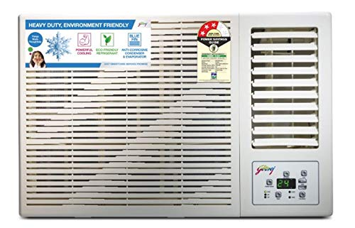 Godrej 1 Ton 3 Star Window AC (Copper, 2019 Model, AC 1T GWC 12DTC3-WSA 3S, White)