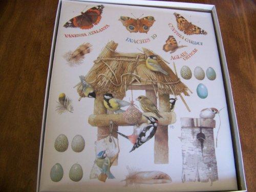 """Marjolein Bastin Birds and Butterflies by Hallmark 12.5 x 11"""" Post Bound Photo Album"""