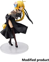 Siyushop Fate/Grand Order Joan of Arc PVC Figure Ruler Black Dress Hand Model Action Figure About Toy High 20.8CM(8.2Inches)