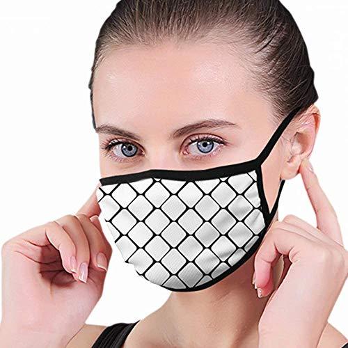 Mondbeschermer, Snake Skin Black White Snakeskin mondmasker, Creatieve mondbeschermers voor hardlopen Skiën Snowboarden