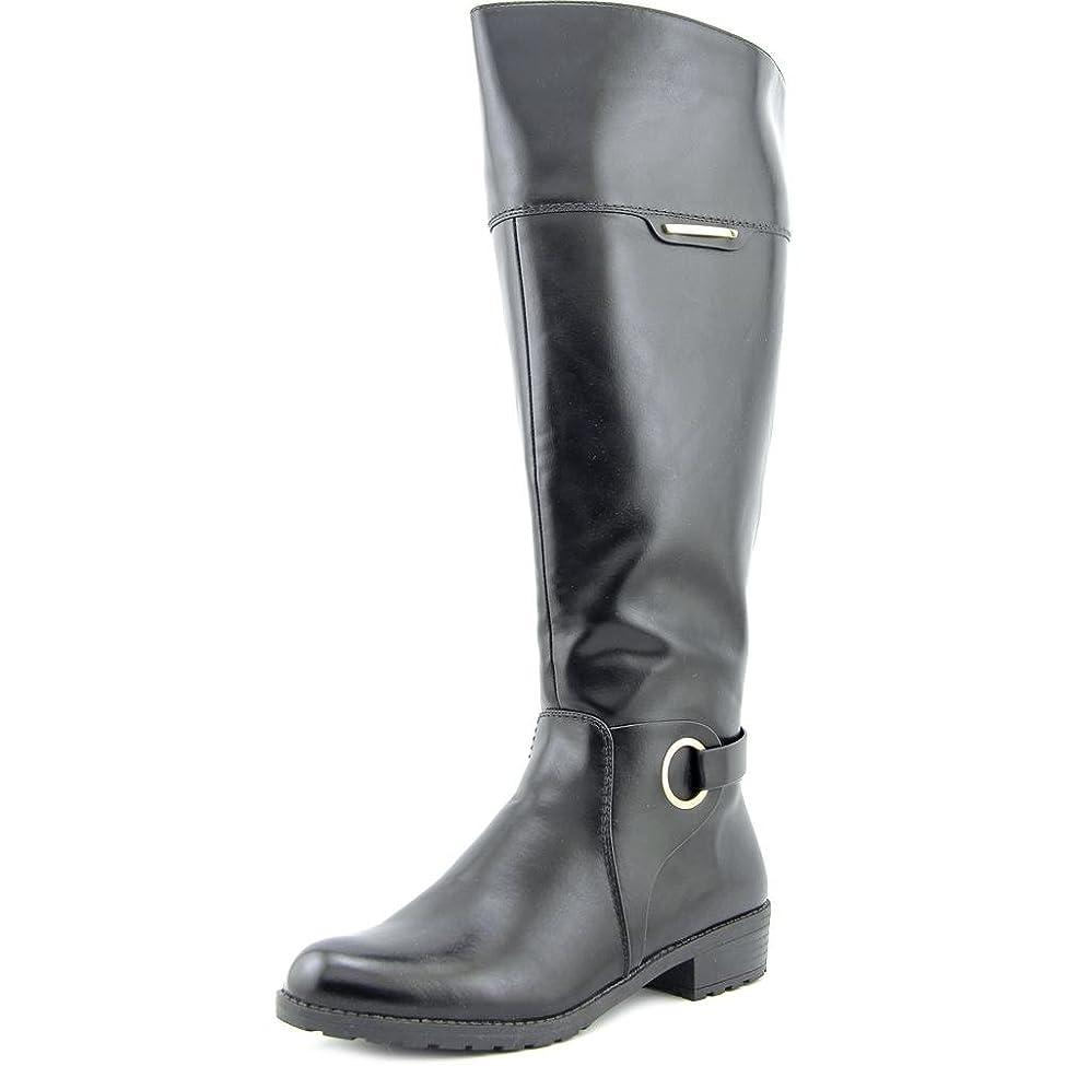 解決天気ログ[Alfani] Womens Jadah Wide Calf Closed Toe Fashion Boots