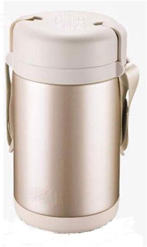 SLM-max Taza de Agua portátil,Fiambrera con Aislamiento , Termos Frascos de Comida Botella de Comida Taza para hervir a Fuego Lento Taza de Avena al Aire Libre Olla Porta Almuerzo para Estudiante