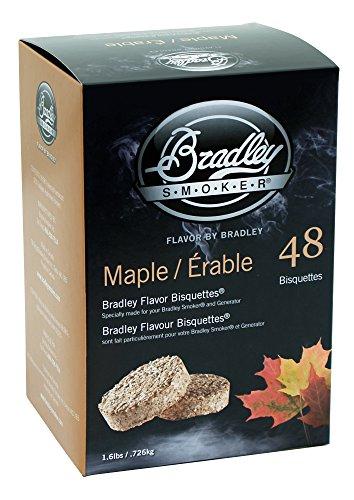 Bradley Smoker BTMP48 Ahorn Bisuetten 48 Pack