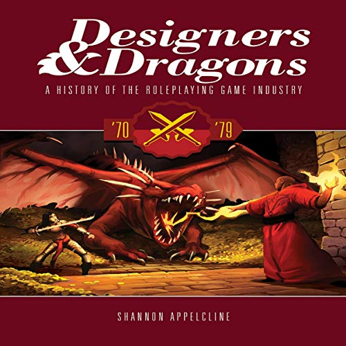 Designers & Dragons: The '70s cover art