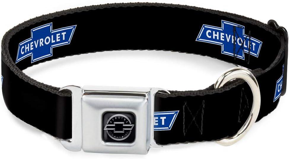 Topics on TV Buckle-Down Dog Collar Seatbelt Buckle Logo Repeat Chevy Popular brand Bowtie