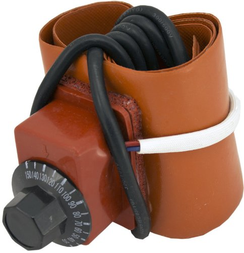 Duda Diesel PHS Small Silicone Pail Heater Adjustable Thermostat 450W 110V/120V 790 mm x 102 mm, 4' Height, 0.06' Width, 31.1' Length
