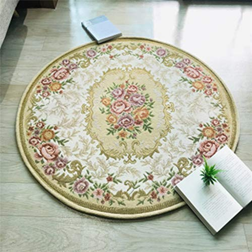 Best Prices! CarPet Round Bathroom Protection Pad (Diameter 90cm-100cm) (Color : B, Size : 90cm)