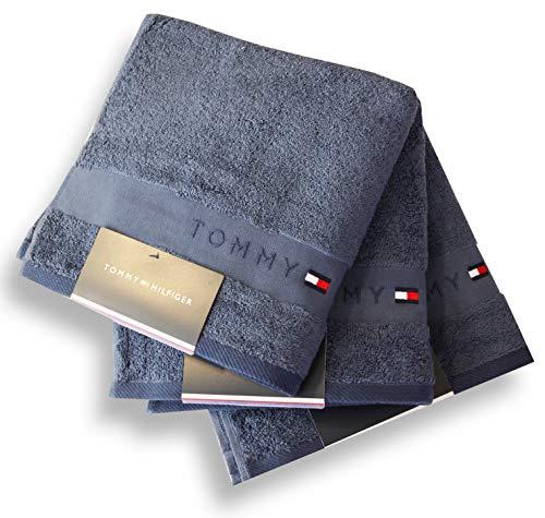 Tommy Hilfiger Handtücher Uni Jean, Handtuch 50x100 cm