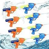 Herefun Pistola ad Acqua Piccola, 8 Pezzi Pistole ad Acqua per Bambini, Pistole ad Acqua Giocattolo, Pistola ad Acqua all'aperto Gamma di 6 Metri, Pistola ad Acqua Spiaggia per Feste e Piscina (8PCS)