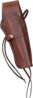"Western Express – Right – for 6"" Brown Smooth Leather Gun Holster (.22 .38 .45 Caliber)"