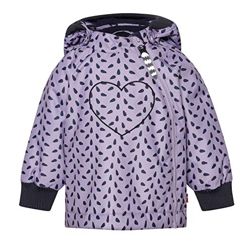 Racoon Baby-Girls Laura Winter Jacke R0328-0800 Jacket AW, Mini Leafs, 74