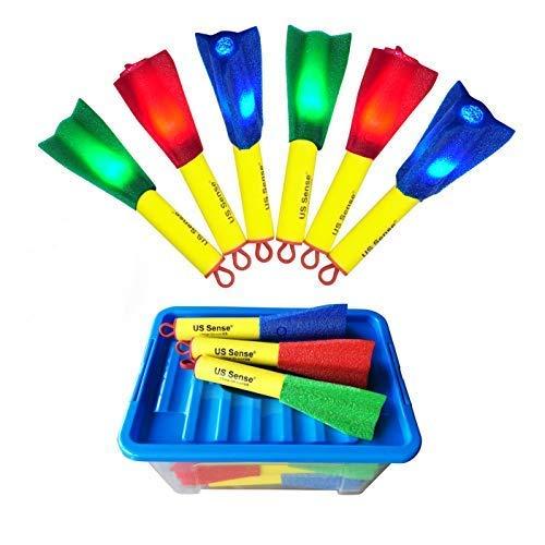 21pcs LED Foam Finger Glowing Rockets