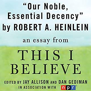 Our Noble, Essential Decency cover art