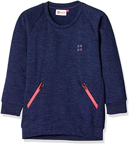 Lego Wear Duplo Girl Summer 701 Sweat-Shirt, Bleu (Blue 565), 4 Ans Bébé Fille