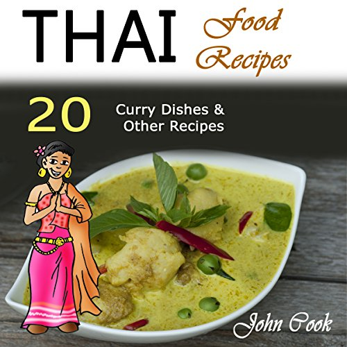 Thai Food Recipes audiobook cover art