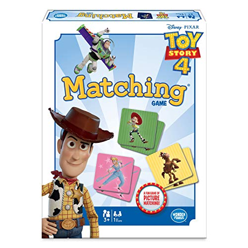Wonder Forge Disney Pixar Toy Story 4 Matching Game For Girls