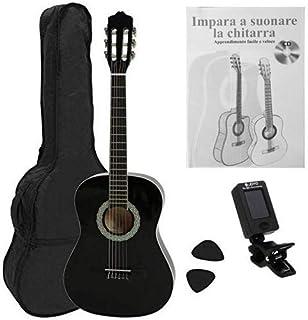 Navarra NV12PK - Guitarra Clásica para Aprender, Sintonizad