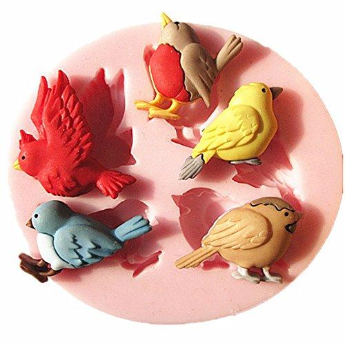 Bluelover Oiseau Cuisine Fondant Chocolat Moule À Gâteau Moule En Silicone Cuisson Outils