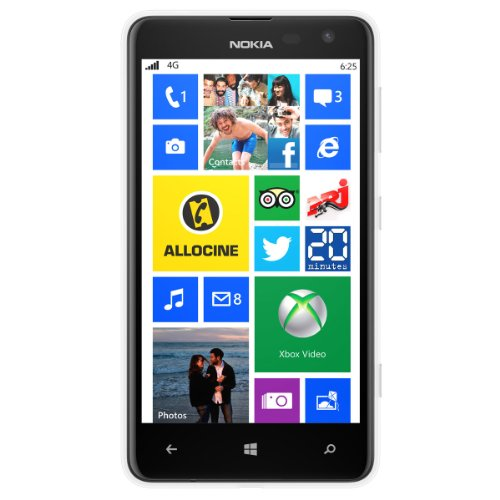 Nokia Lumia 625 11,9 cm (4.7') 0,5 GB 8 GB SIM singola 4G Bianco 2000 mAh