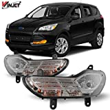 Winjet OEM Series for [2013 2014 2015 2016 Ford Escape] Driving Fog Lights