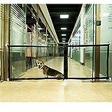 Rede de isolamento dobrável WESSD para animais de estimação, porta mágica, rede protetora para cães, cerca de segurança para cães, proteção portátil, proteção de porta de segurança para crianças, siga em qualquer lugar