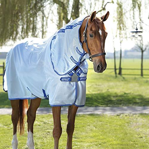 Horseware Amigo XL Bug Rug Flysheet - Colchón con cierre frontal de disco