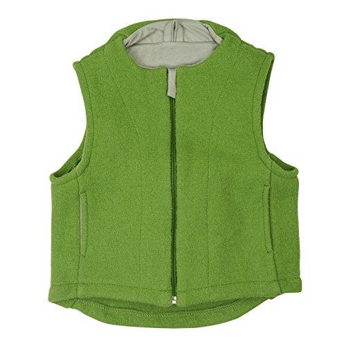 Disana 42402XX - Walk-Weste Wolle (122/128, grün)